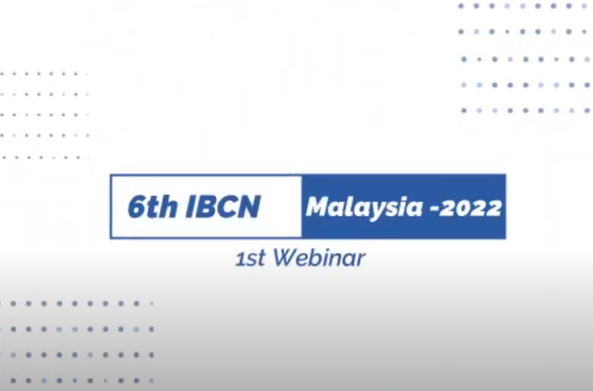 6th IBCN 1st Webinar; Employers and Employees